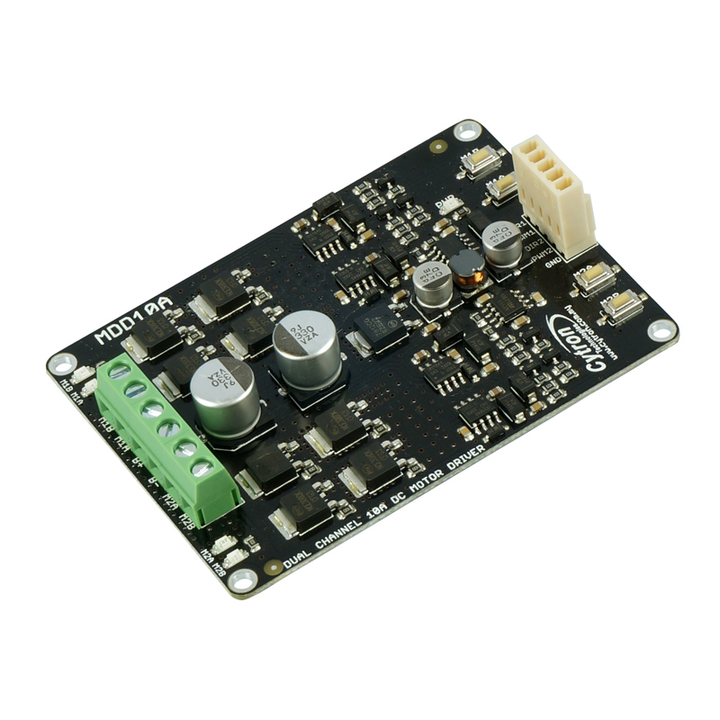 Dual Channel 10a Dc Motor Driver Mdd10a Makers Electronics