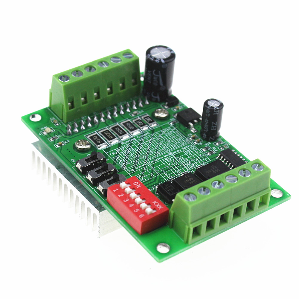 Cnc Router Single Axis 3a Tb6560 Stepper Motor Driver Makers