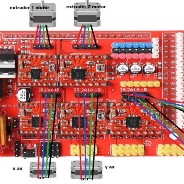 Ramps Reprap Shield For Arduino Mega Makers Electronics