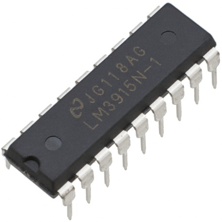 lm3915 monolithic ic makers electronics