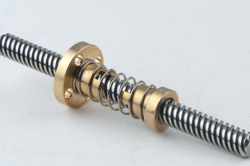 Lead Screw for CNC & 3D Printer Size 8x1200mm + ANTI BACKLASH Nut